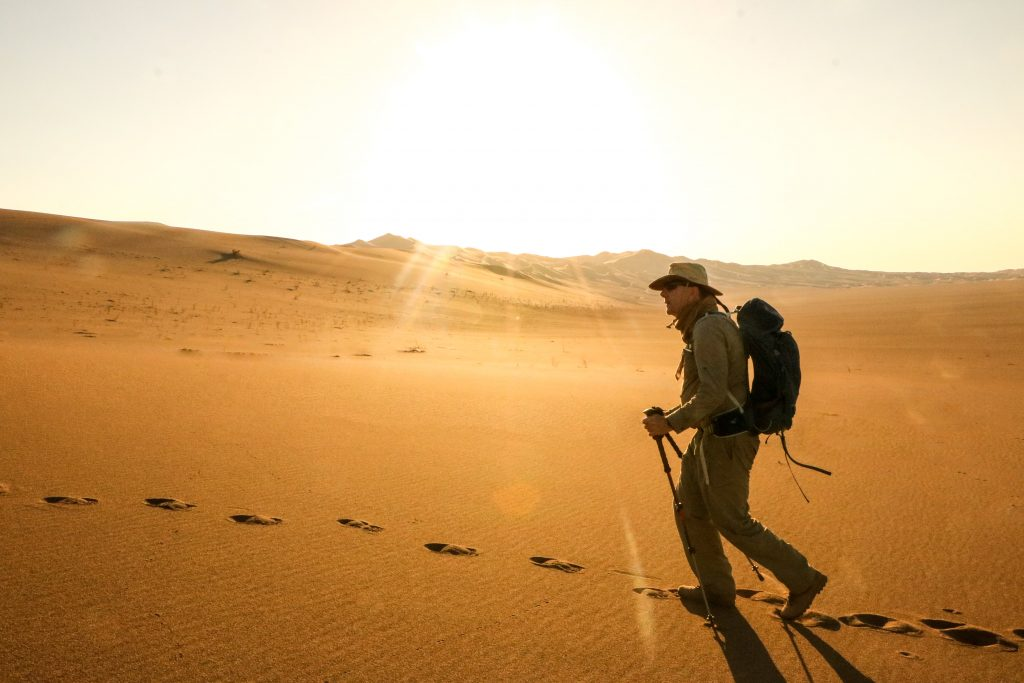 Lincolnshire man treks the Iranian desert in aid of Lincs & Notts Air Ambulance