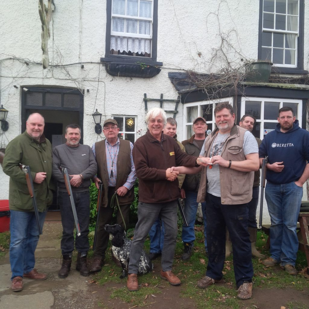 Sharp shooters of Tetford raise money for local air ambulance
