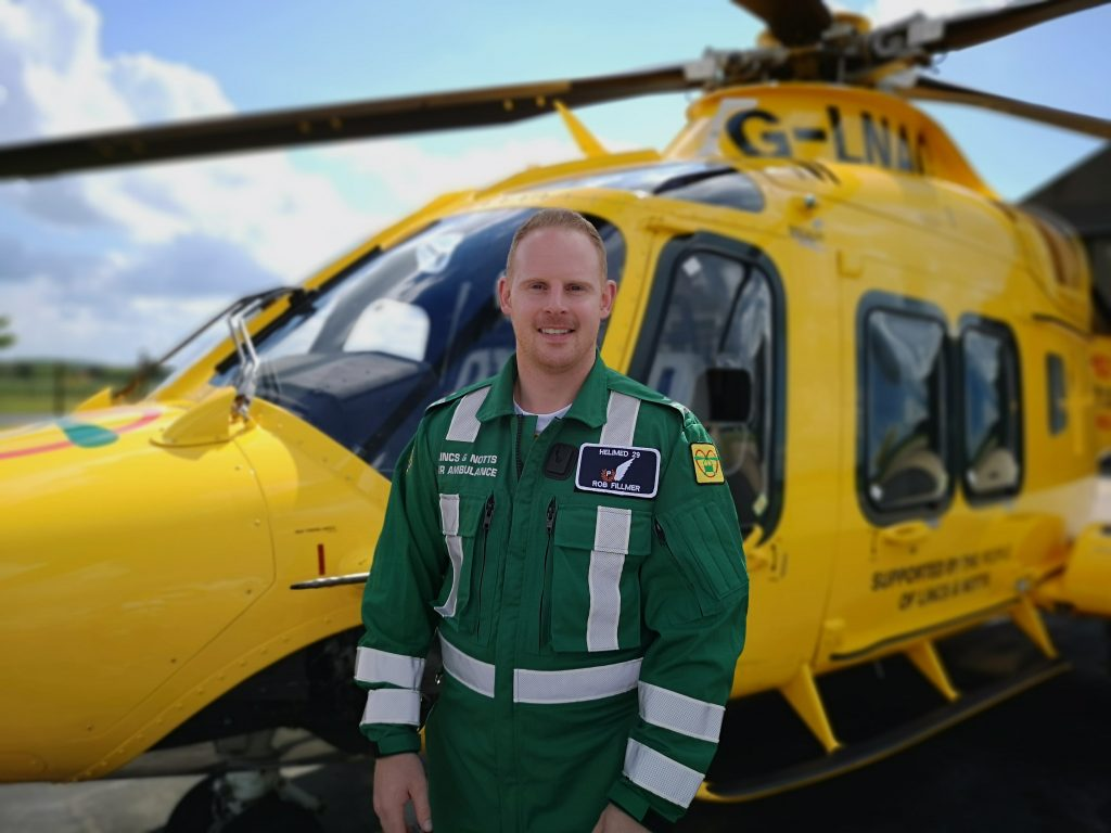 Lincs & Notts Air Ambulance welcomes new paramedic to team