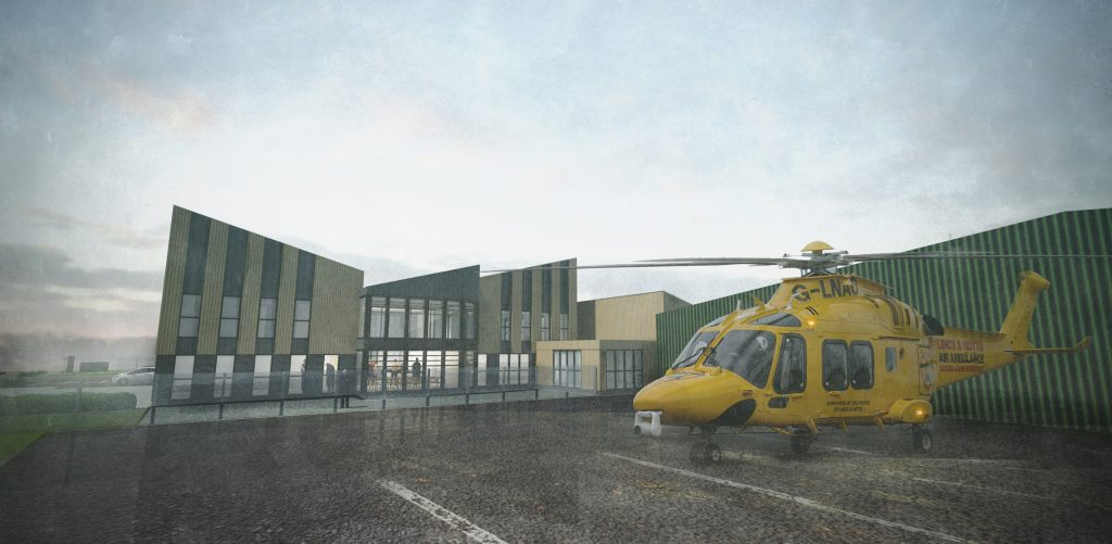 LNAA receives grant to fund new home for Ambucopter