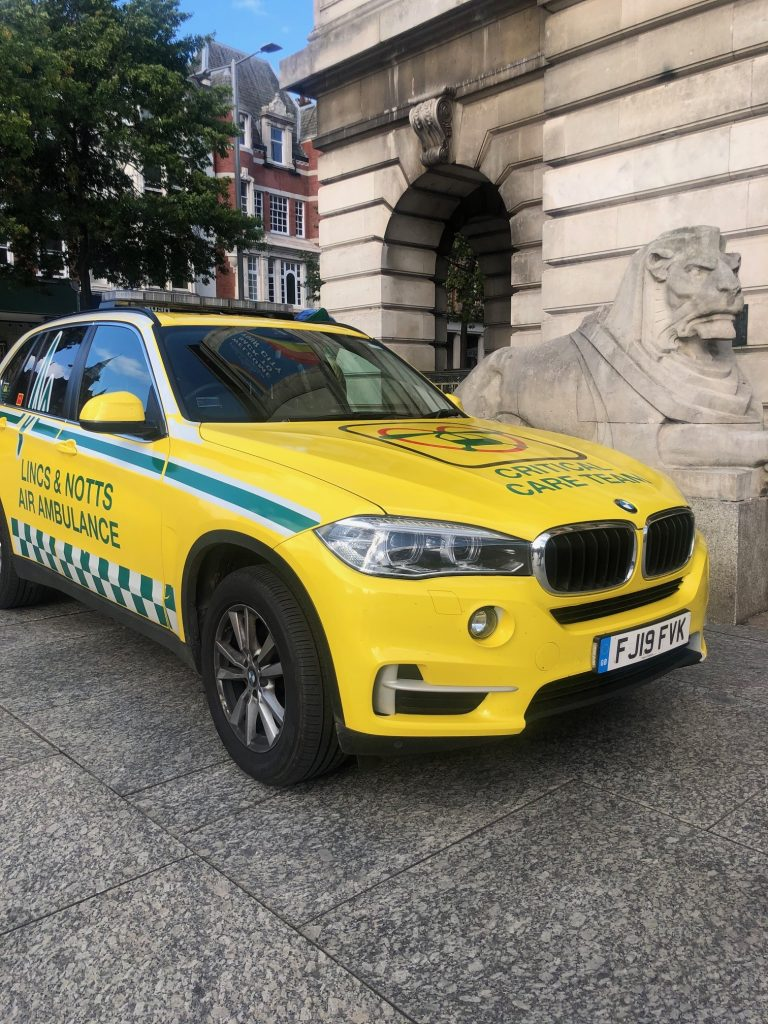 LNAA expands service with new Critical Care Car for Nottingham