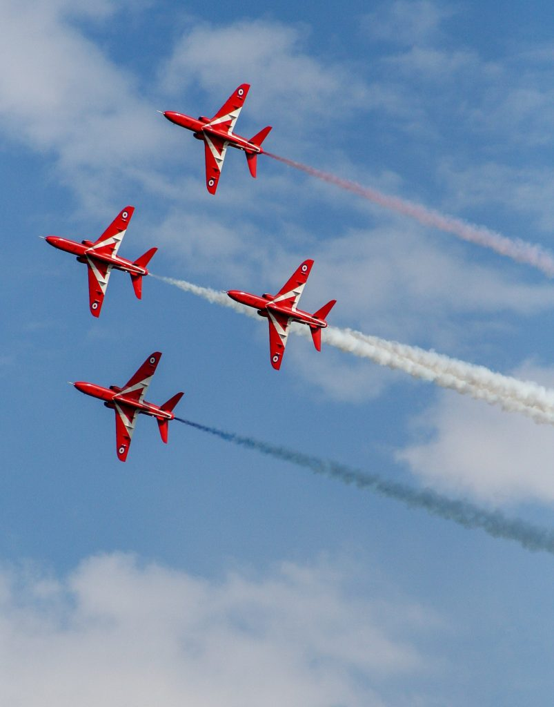 Win a day with the Red Arrows at the LAACA Christmas Auction!