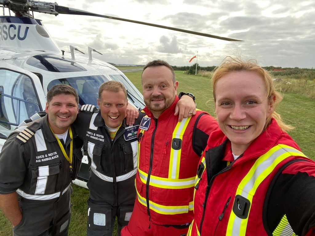 Record-Breaking Summer for Lincs & Notts Air Ambulance